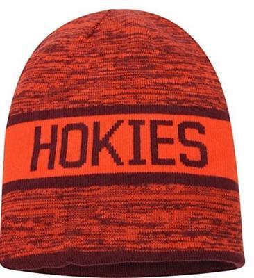 NEW Nike Virginia Tech Hokies Reversible Local DNA Adult Beanie - Burgundy - OS