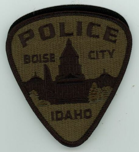 IDAHO ID BOISE POLICE SUBDUED SWAT STYLE NEW PATCH SHERIFF