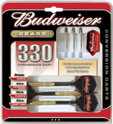 BUDWEISER 330 BRASS CONVERSION TIP DARTS