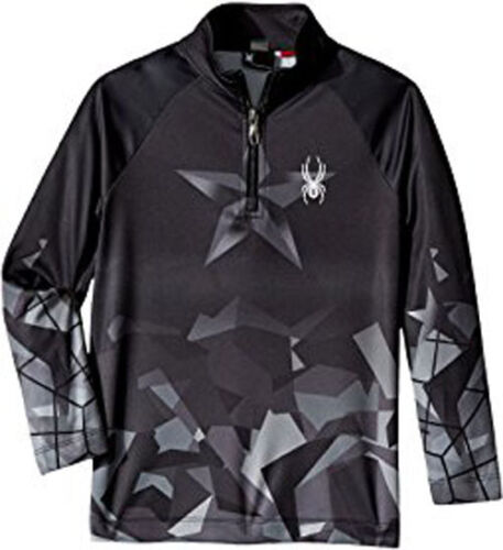 Spyder Kids Limitless T-Neck Top Mid-Layer Top Thermal Shirt Size S (8 Boys) NWT