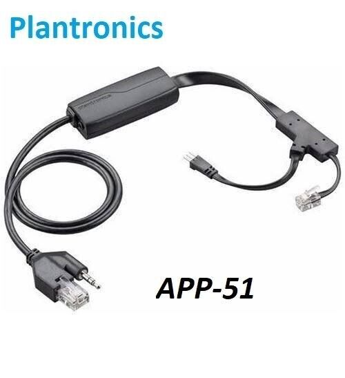 Plantronics EHS APP-51 Hook Switch for MDA200/CS 510 520 W700 Series and more