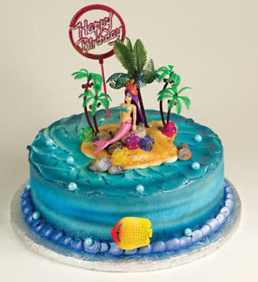 Mermaid Cake Decorating Kit Under the Sea KITS WILL - Under The Sea Cake