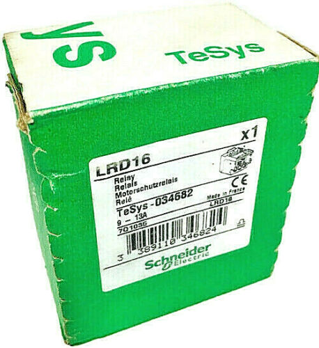 Schneider Electric -- LRD16 Thermal Overload Relay -- TeSys-034682 -- 12-18 amps