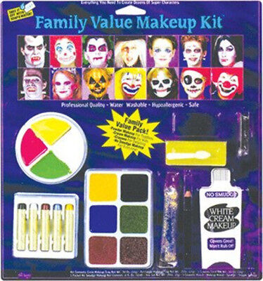 Festive Value Makeup Kit Everything to Create Dozens of Characters Halloween