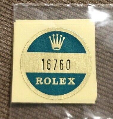 🛑A) 16760 Rolex vintage GMT master Sticker Aufkleber Etiqueta Adhesivo adesivo comprar usado  Enviando para Brazil