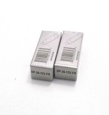 Lot of 2 WAC BP-20-12V-FR Frosted  Lamps - Xenon - 12 Volt - 20 Watt  - Bi-Pin
