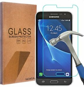 tempered glass screen protector Samsung Galaxy Express J3/Prime