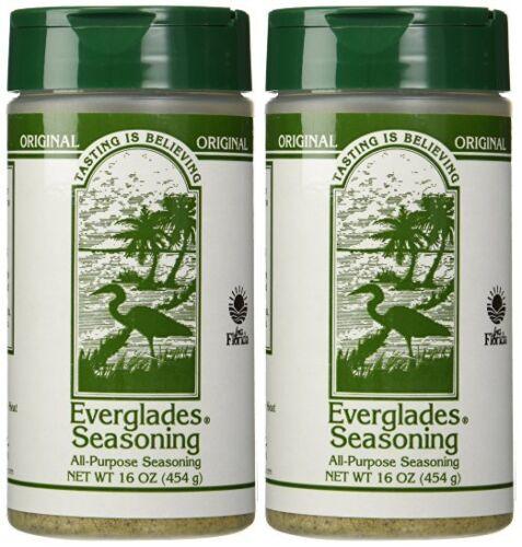 Everglades Seasoning 2-16 oz Original All Purpose 2 lb Chicken Pork Fish Deer