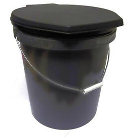 Toilet for camping/travel. As new, hardly used. Cost £19.99 from Go Outdoors.