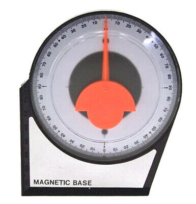 Magnetic Dial Gauge Angle Finder Inclinometer Protractor Clinometer Pinion Tool