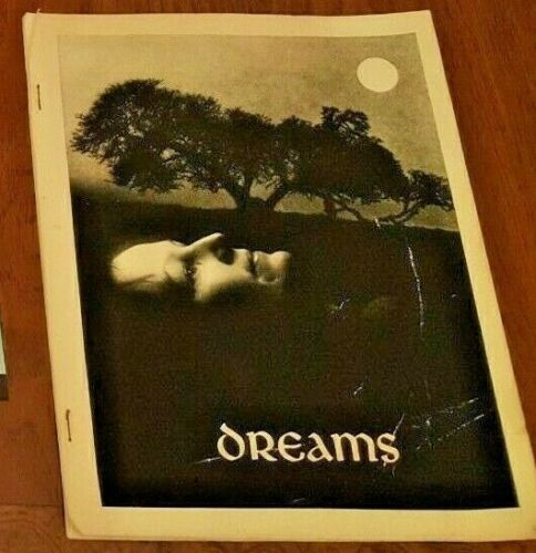 """Vintage RARE Rosicrucian Paper Bound 11x8 Book """"DREAMS"""" 1983 by AMORC Research"""