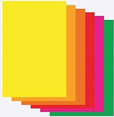 Plakatpapier A1 farbig sortiert 30 Blatt