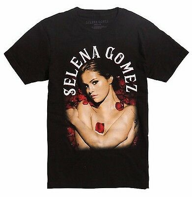 Selena Gomez Roses T Shirt New 100  Authentic   Licensed Xs 3Xl