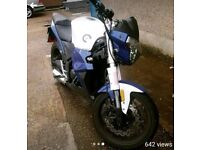 NEW 250cc WK registered as 125.