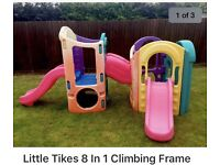 Wanted little tikes climbing cube,slide,pink car