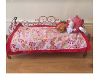 Our Generation doll bed !