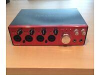 Focusrite Clarett 4 Pre - Thunderbolt Audio Interface