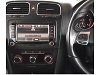 Genuine VW RNS510 Sat Nav T5 GOLF CADDY SCIROCCO PASSAT GOLF DVD RNS 510 & CODE