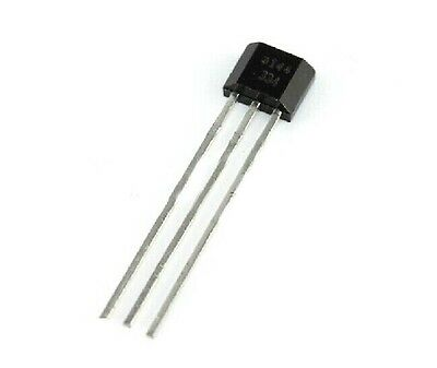 100pcs A3144 3144e Oh3144e Hall Effect Sensor Switches To-92ua 3pin Sip