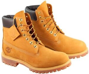 "MENS TIMBERLAND BOOTS - SIZE 9 - CLASSIC 6"" TALL - BRAND NEW"
