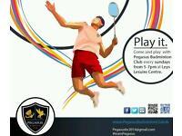 Pegasus Badminton Club looking for new players !