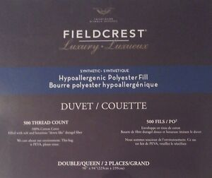 FIELDCREST LUXURY DUVET