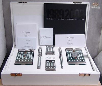 S.T DUPONT LIMITED EDITION OLYMPIO MEDICI SET IRRESISTIBLE AND FANTASTIC DESIGN!