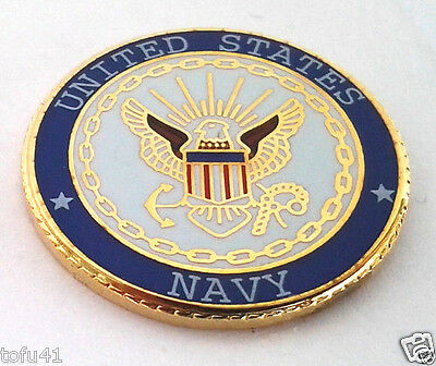 UNITED STATES NAVY  Military Veteran Hat Pin 14627 HO  SMALL