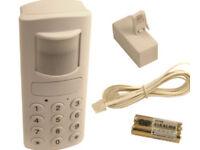 Motion Detection Alarm with PIR Autodialler (1) Window alarm (2) Door alarm (3)