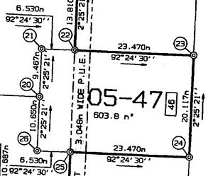 Dieppe - R2 / Residential vacant building lot