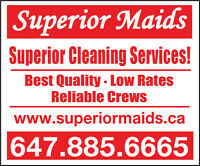 Best cleaning company in Markham and York Region #1