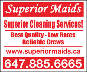 Professional house & office cleaning in Brampton,Caledon