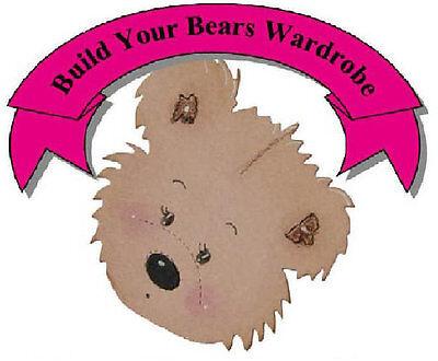 Build Your Bears Wardrobe Ltd - Bear clothes