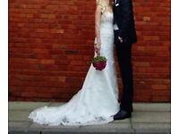 Wedding Dress Ivory Size 8