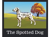 Chef for The Spotted Dog, Flamstead