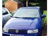 Left hand drive polo 1997 1.4 petrol £500
