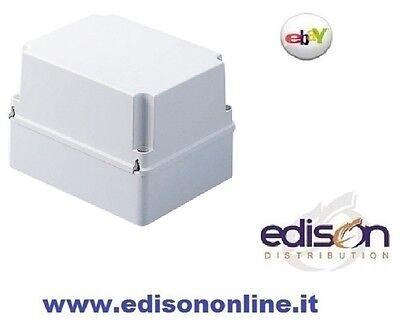 CASSETTA DI DERIVAZIONE STAGNA IP56 300x220mm PARETI LISCE CON COPERCHIO ALTO
