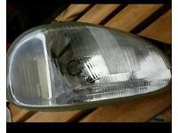 Vauxhall corsa front offside headlight