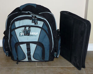 Backpack with Binder & Pencil Case . Adult Size . Cambridge Kitchener Area image 1