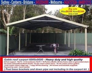 New  carport 6 x 9  $2350 or 6 x 12  $ 2960 Thomastown Whittlesea Area Preview