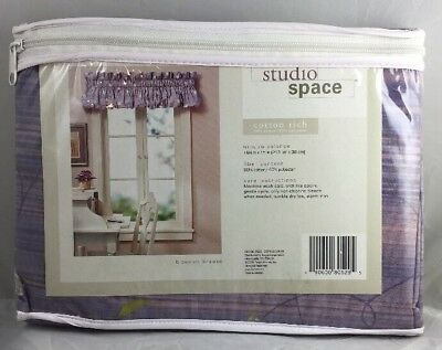 Breeze Window Valance - Valance Window Curtain Studio Blossom Breeze 84
