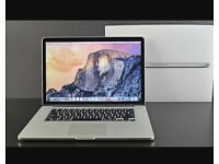 "MacBook Pro 15"" top spec as new with warranty"
