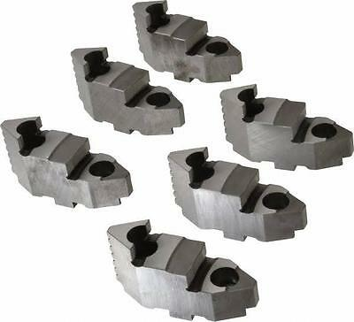 Bison Lathe Chuck Hard Top Jaw For Scroll 6 In 6-jaw 6 Piece Set 7-883-606