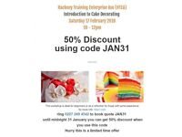 50 % discount - Introduction to Cake Decorating