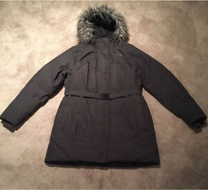 Woman's North Face Winter jacket XL grey like new Kitchener / Waterloo Kitchener Area image 1