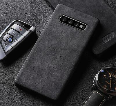5g Cover (Alcantara Cover Hülle Wildleder Samsung Galaxy S10e S10 Plus 5G Rehleder Case)