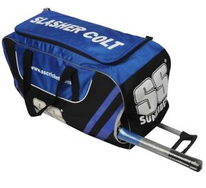 SS Slasher Cricket Kit Bag with Wheels on Sale!