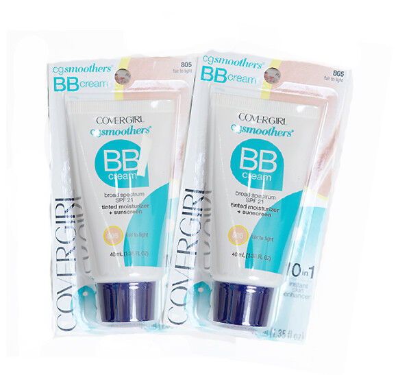 2 Pack!- COVERGIRL Smoothers Lightweight BB Cream- Exp 8/18-