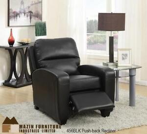 Motion Recliner Chair in Black MA10 456BLK (BD-1328)