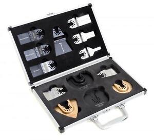 13 Saxton Blades Case Set for Worx Sonicrafter Hyperlock Wolf Erbauer Quick Fit